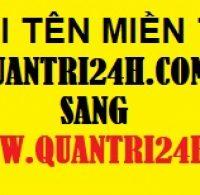 Thông báo chuyển tên miền website www.quantri24h.com